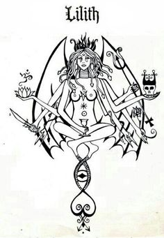 Lilith tattoo idea, anyone?